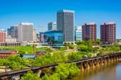 View of the skyline in Richmond, Virginia. — Stock Photo