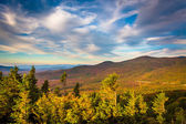 Autumn evening view  from Bald Mountain, at Franconia Notch Stat — Stock Photo