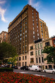 Buildings along Park Avenue in Upper East Side, Manhattan, New Y — Stock Photo
