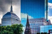 Diverse buildings in Boston, Massachusetts. — Stock Photo
