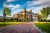 Mason Hall, at John Hopkins University in Baltimore, Maryland.  — Stock Photo