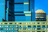 Modern architectural details in downtown Baltimore, Maryland. — Stock Photo