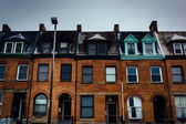 Row houses in Charles North, Baltimore, Maryland. — Photo