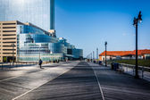 Il Boardwalk di Atlantic City, New Jersey. — Foto Stock
