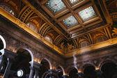 The interior of the Library of Congress, Washington, DC.  — Stock Photo