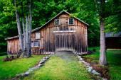 Old barn at Millbrook Village, at Delaware Water Gap National Re — Stock Photo