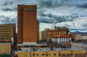 View of buildings in downtown Albuquerque, New Mexico. — Stock Photo