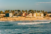 View of the beach in Imperial Beach, California. — Stock Photo