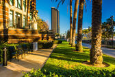Walkways and buildings in San Diego, California. — Stock Photo