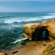 Cave and cliffs along the Pacific Ocean at Sunset Cliffs Natural — Stock Photo #65570375