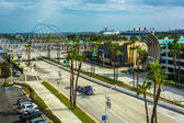 View of Shoreline Drive in Long Beach, California. — Stock Photo