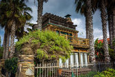 House along the boardwalk, in Venice Beach, Los Angeles, Califor — Stock Photo
