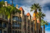 Exterior of the Mission Inn, in Riverside, California. — Stock Photo