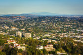 View of Northeast Los Angeles from Griffith Observatory, in Los  — Stock Photo