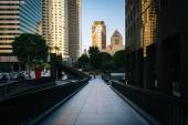 Buildings in the Financial District, in Los Angeles, California. — Stock Photo