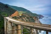 View of Bixby Creek Bridge, in Big Sur, California. — Stock Photo