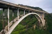 View of the Rocky Creek Bridge, in Big Sur, California. — Stock Photo