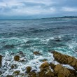 Rocks and waves in the Pacific Ocean, seen from the 17 Mile Driv — Stock Photo #71043503