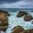 Waves and rocks in the Pacific Ocean, seen from the 17 Mile Driv — Stock Photo #71043887