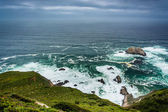 View of the Pacific Ocean in Big Sur, California. — Stockfoto