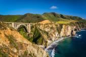 Bixby Creek Bridge, in Big Sur, California. — Stock Photo