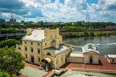 View of the Fairmount Waterworks in Philadelphia, Pennsylvania. — Stock Photo