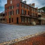 Buildings along Shenandoah Street in Harpers Ferry, West Virgini — Stock Photo #76825593