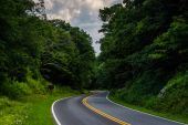 Skyline Drive, in Shenandoah National Park, Virginia. — Stock Photo