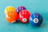 Billiard ball — Stock Photo