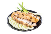 Carne de porco crocante — Fotografia Stock