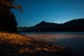 Night river — Stock Photo