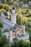 South Entrance of the Neuschwanstein Castle — Stock Photo