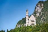 Neuschwanstein Castle - Summer View — Stock Photo
