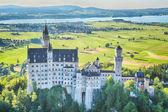 Neuschwanstein Castle and Surroundings — Stock Photo