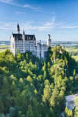 Neuschwanstein Castle - South Side — Stock Photo