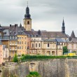 Dramatic Sky Over Luxembourg City — Stock Photo #56381453