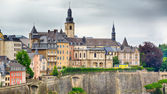 Dramatic Sky Over Luxembourg City — Stock Photo