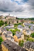 Old Architecture in Luxembourg City — Stock Photo