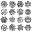Snowflake hand drawn — Stock Vector #55093019