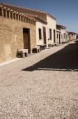 San salvatore sinis cabras old west village — Stock Photo