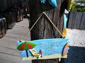 Emporium for souvenirs of the sea lifesaver — Stock Photo