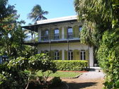 Hemingway house key west — Stock Photo