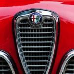VINTAGE CAR LO ALFA ROMEO GIULIETTA SPINT VELOCE — Stock Photo #71299385