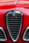 VINTAGE CAR LO ALFA ROMEO GIULIETTA SPINT VELOCE — 图库照片