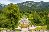 View at the Linderhof castle — Stock Photo