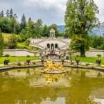 Fountain near Linderhof palace — Stock Photo #54100591