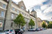 Building Landesgericht in Feldkirch — Stock Photo