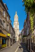 In the streets in Avranches — Stock Photo