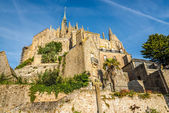Abbey in Mont Saint-Michele — Foto de Stock