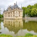 Chateau Azay le Rideau with moat — Stock Photo #54733407